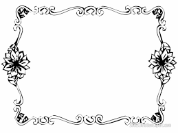 borders to download templates for free bordered paper templates
