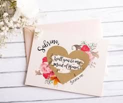 will you be my bridesmaid card scratch off card bridesmaid