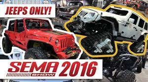 sema jeep 2016 coolest jeeps of the sema show 2016 youtube