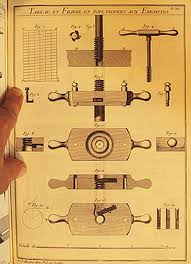 to make threaded screws and nuts of wood a set of two tools is