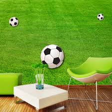 aliexpress com buy custom wallpaper murals green lawn soccer