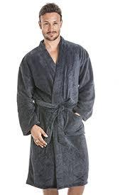 robe de chambre douce camille robe de chambre pour homme polaire douce gris foncé et