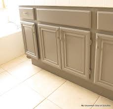 How To Paint A Bathroom Cabinet by Top 25 Best Painted Bathroom Cabinets Ideas On Pinterest Paint