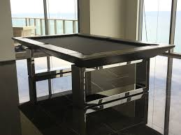 mitchell pool tables chrome pool tables metal pool tables modern