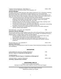 Sample Resume For Restaurant Manager by Resume Sample Hotel Restaurant Management Templates