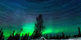 where is the northern lights in alaska hypnotic northern lights time lapse captured over 2 magical nights
