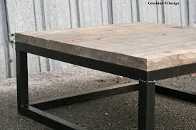 Industrial Wood Coffee Table by Buy A Hand Crafted Reclaimed Wood Coffee Table Rustic Urban End