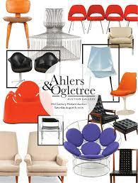 ahlers u0026 ogletree auction gallery august 2015 mid century modern