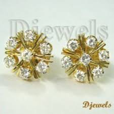 diamond earrings price fancy diamond earrings for sale in coimbatore on