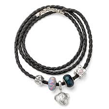 charm bracelet for leather wrap bracelet for charms thinkgeek