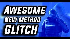 awesome new method glitch rainbow six siege youtube