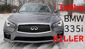 2015 infiniti q50s hybrid 360hp review the bmw 335i killer