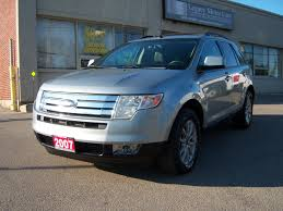 ford crossover 2007 used 2007 ford edge for sale toronto on