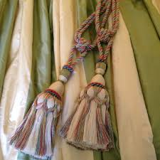 Curtain Tie Backs Anthropologie by Pair Gorgeous Scalamandre Silk Tassel Tie Backs In Curtains