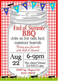 bbq summer party flyer ai illustrator party flyer and summer