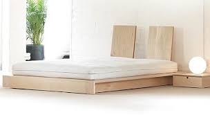 perfect flat platform bed frame with the plateau within frames