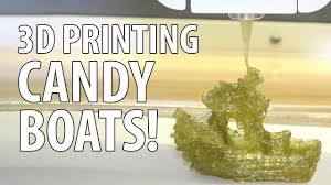 3d printing a gummy 3dbenchy with the magic candy factory youtube