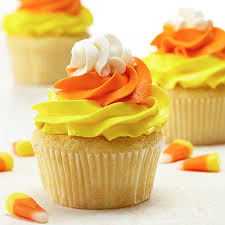 candy corn cupcakes recipe land o u0027lakes