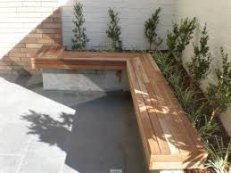 garden bed with built in seat gor sne pinterest diy planter