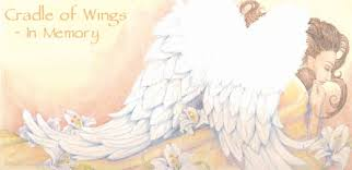 cradle of wings in memory song for an infant funeral baby