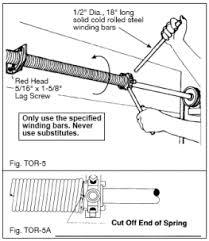 How To Install An Overhead Door And Adjusting Garage Door Torsion Springs