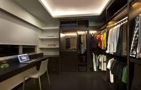 Ideas For Lacquer Furniture Design Walk In Closet Design Ideas L Shaped White Lacquer Oak Wood