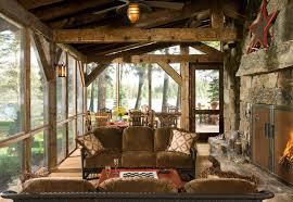 cabin porch heritage cabin