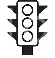 And White Lights Traffic Light Clipart Outline Pencil And In Color Traffic Light