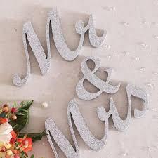 aliexpress com buy 3pcs wooden standing letters mr u0026 mrs table