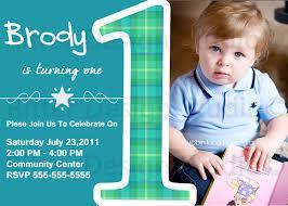 invitation card first birthday boy design 1st boy birthday