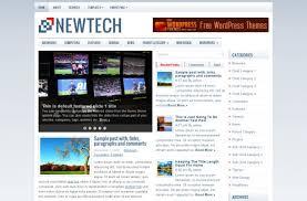 free blue news magazine wordpress theme template free wordpress