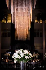 Wedding Chandeliers Beautiful Blooms Atrium At The Curtis Center Wedding Chandeliers