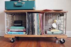 lp record cabinet furniture simple and classy ways to store your vinyl record collection