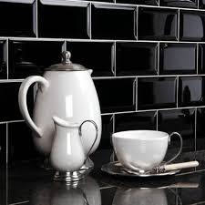Kitchen Wall Tiles Countertops Black Tiles Kitchen Wall Crown Tiles Mini Black