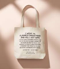 power and light press power light press stand with planned parenthood tote bag lou grey