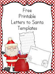 free santa letter templates the homeschool village