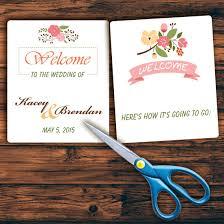 how to create a wedding program how to make a wedding program europe tripsleep co