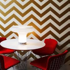 Temp Wallpaper by Temporary Wallpaper Chevron Metallic Gold U2013 Dormify
