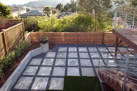 imposing decoration concrete backyard beauteous 1000 ideas about