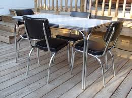 1950s chrome kitchen table and chairs vintage chrome kitchen table set fresh 32 best formica tables retro