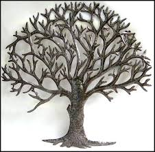 best 25 metal tree wall ideas on metal wall