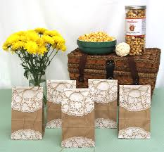 Popcorn Sayings For Wedding How To Make Diy Popcorn Goody Bags For Spring Brown Paper