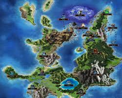 Final Fantasy 2 World Map by Olderion Federation Final Fantasy Brave Exvius Wiki