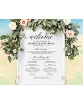 wedding poster template amazing deals on wedding signs