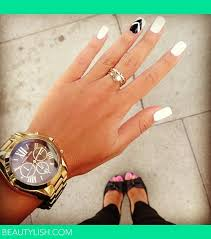 chic black and white nail art designs hairstyles nail art