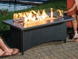 outdoor fire tables propane gas pit coffee table designs