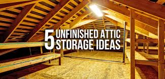 attic ideas 5 clever storage ideas for unfinished attics budget dumpster