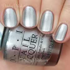 opi silver canvas color paints collection peachy polish