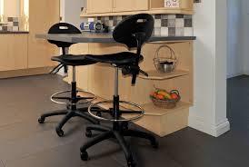 kitchen accessories furniture kitchen black fiberglass bar stool