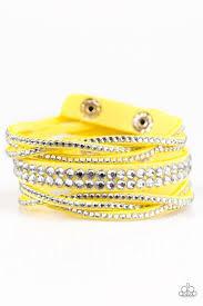yellow bracelet images Yellow paparazzi accessories jewelry jpg